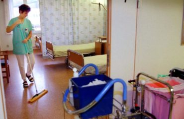 Sjukhusstädning